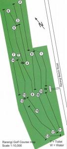 Rarangi Golf Course Layout   Marlborough NZ